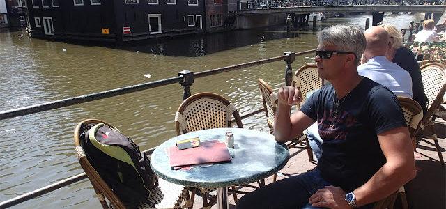 22/7  Lite mer Amsterdam, sen åka vidare