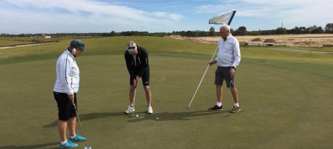10/3  Vår livs första golf-runda!