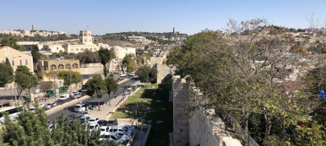 3/11  Ledig dag i Jerusalem