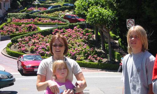 30/6  Turistens Trask I San Fransisco