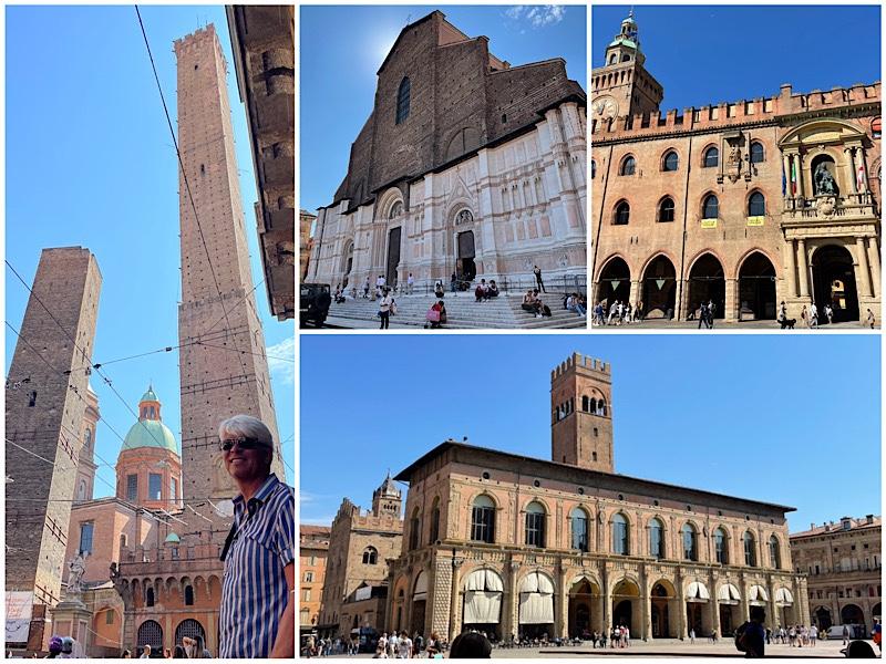 31/8 Från Bologna till Dolomiterna