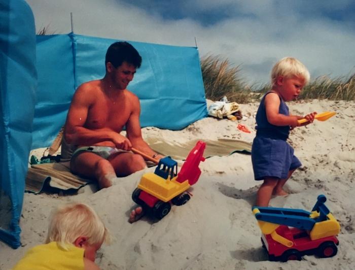 1990  Björns första semester i Danmark