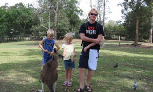 7/11  Utflykt till Brisbanes djurpark