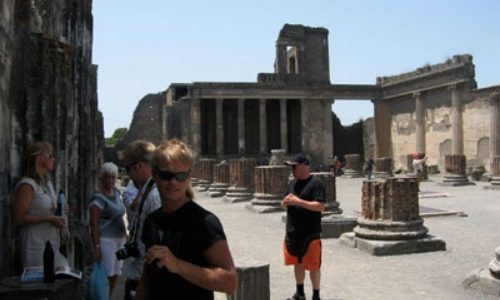 7/7  Pompei, så intressant!!