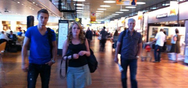 25/7  Första resan. Berth, Kate Tom och Elin åker först.