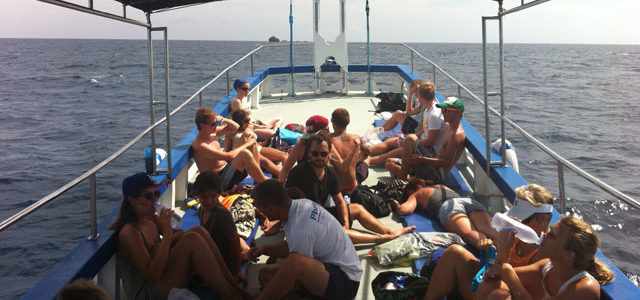 7/8   Till Sail Rock med Pirate Divers