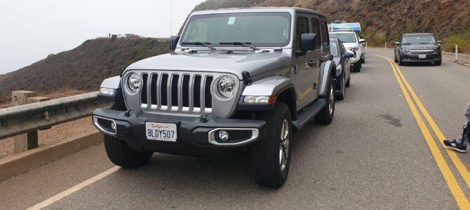 5/8   Highway 1 – i en Jeep